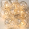 holiday lights glass bulbs