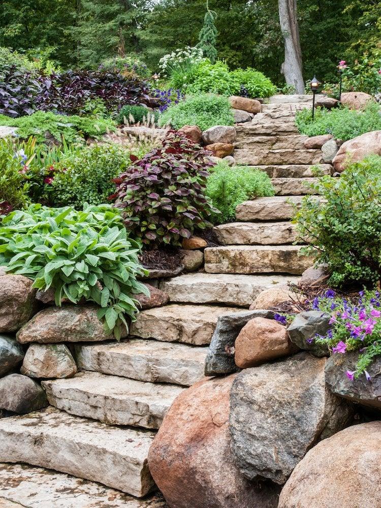 Backyard Slope Landscaping Ideas - 10 Things To Do - Bob Vila