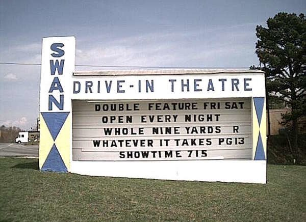 Swan Drive-In Theatre