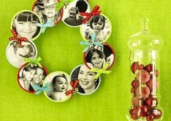 Photo Wreaths