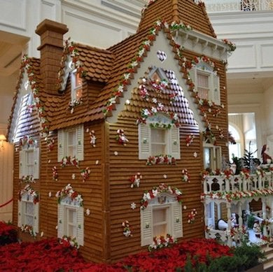 Disney 8 13 grand floridian gingerbread house
