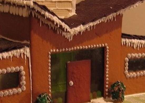 Ranch Gingerbread House
