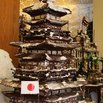 Gingerbread Japanese Pagoda