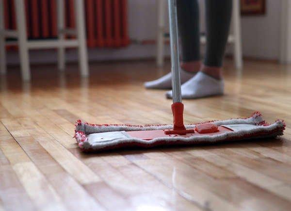 Sweep Kitchen Floor