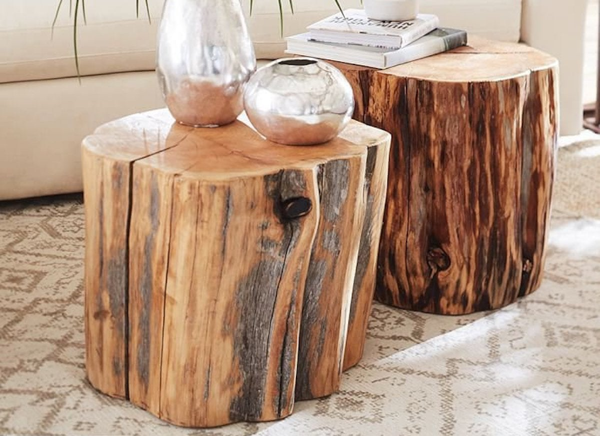 Tree Ring Crafts 10 Things To Do With Cross Cut Trees