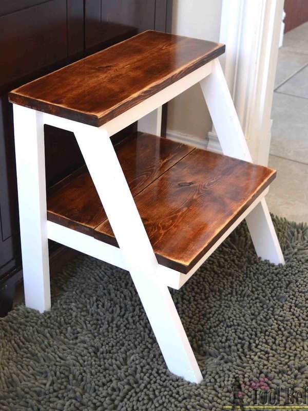 Stupendous 12 Diy Step Stool Designs You Can Make Bob Vila Machost Co Dining Chair Design Ideas Machostcouk