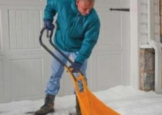 SnoBoss Pusher 4-Way Shovel