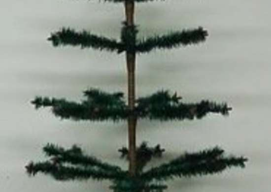 the feather tree comes to the us - Feather Christmas Trees