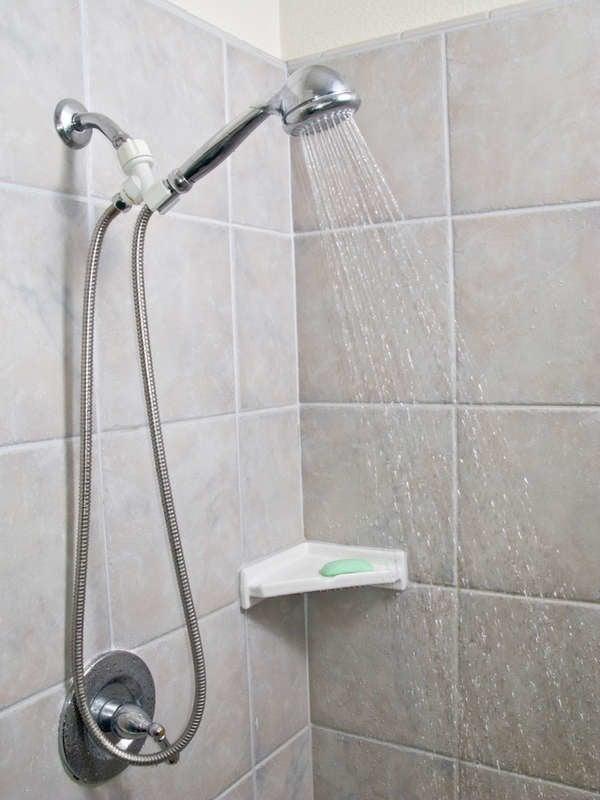 loose shower head holder