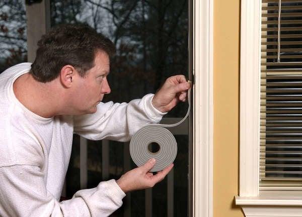 how to stop drafts around doors