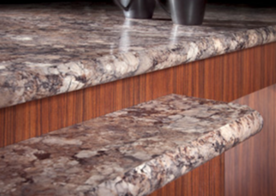 Slide 1: Granite Look Laminate Counters