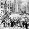 The First Rockefeller Tree Lighting