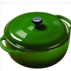 emerald green dutch oven