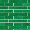 emerald green subway tiles