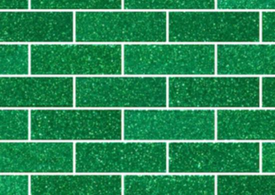 Emeraldgreenglitterglass subwaytiles susanjablon