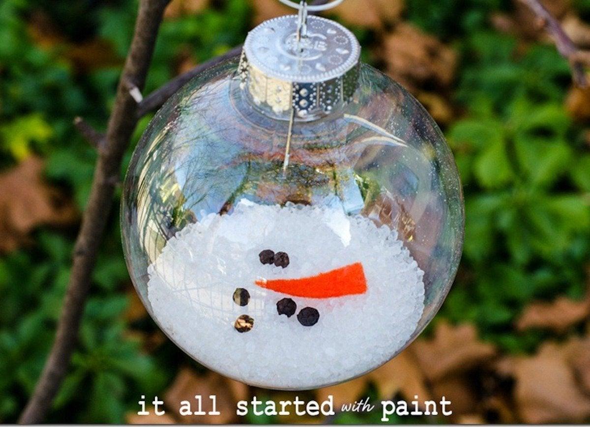Diy Christmas Ornaments 45 Insanely Easy To Make Decorations Bob
