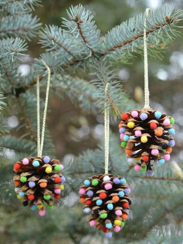 Diy Christmas Ornaments 50 Insanely Easy To Make Decorations