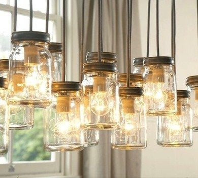 Potterybarn exeter 16jar pendantlight
