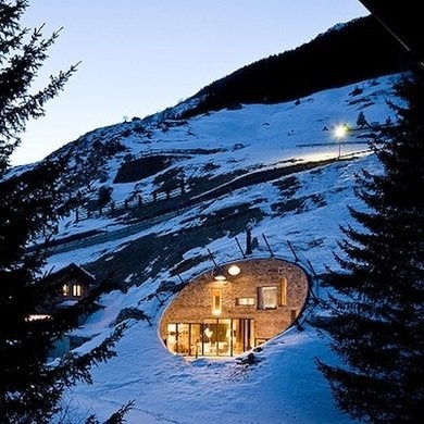 Hobbit houses to make you consider moving underground House built into mountain