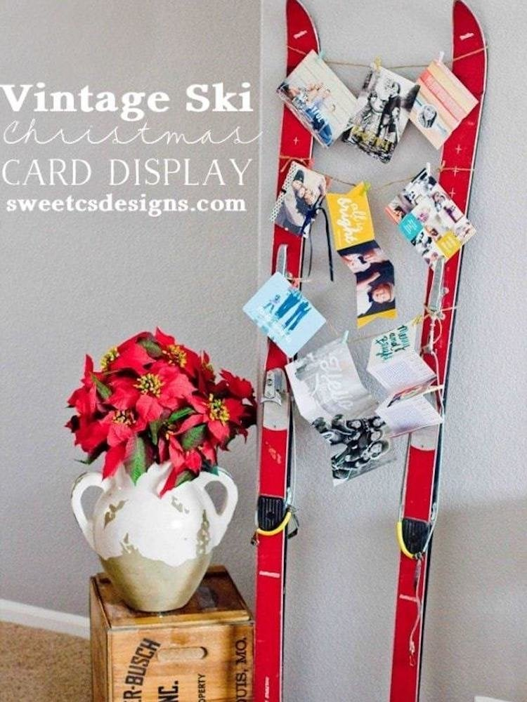 22 Diy Christmas Card Holders Bob Vila