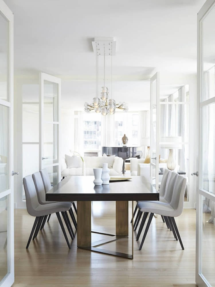 Ideas Dining Room Decor Home When it came time to update their home, a comfortable and inviting dining  room was a priority for these homeowners who entertain frequently.