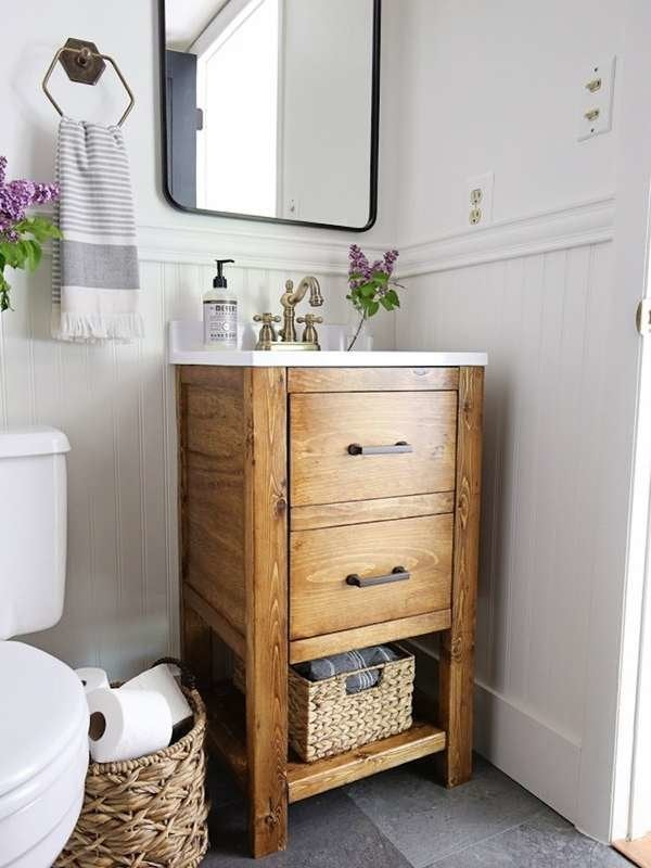 Diy Bathroom Vanity 12