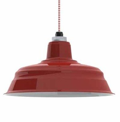 Barnlightelectric barnredwarehousependant