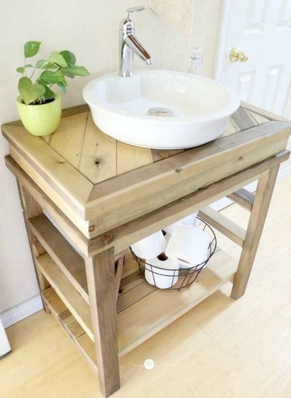 Making Your Own Bathroom Vanity Mycoffeepot Org
