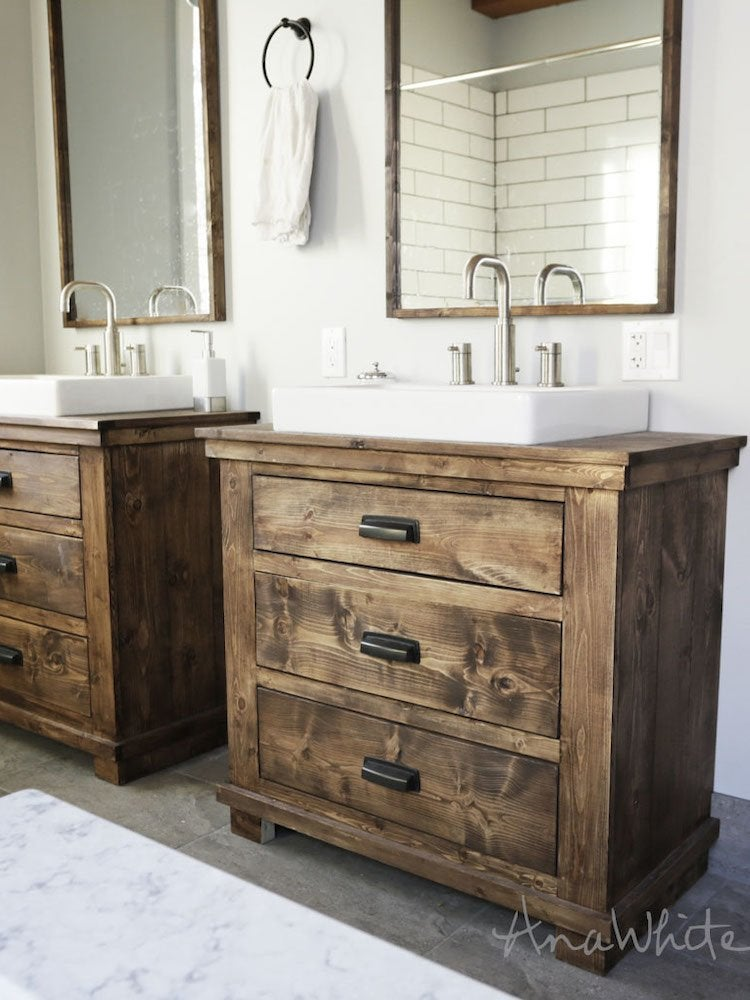 Diy Bathroom Vanity 12 Rehabs Bob Vila