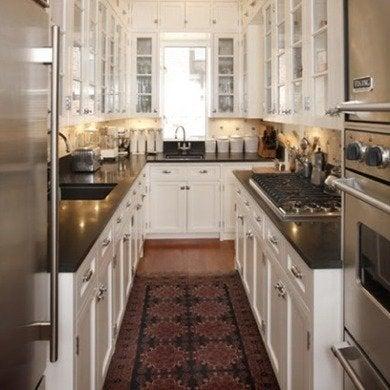 Galley kitchen design ideas 16 gorgeous spaces bob vila for Compact galley kitchen designs