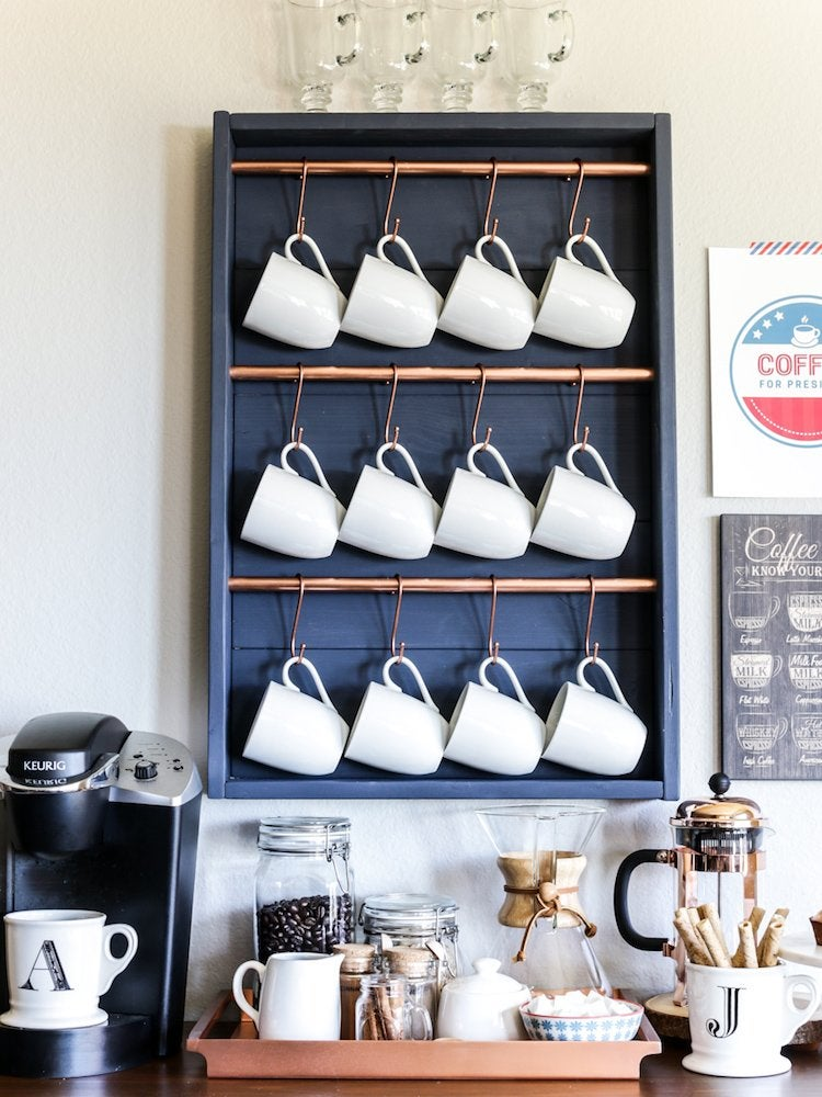 30 Coffee Bars to Put Pep in Your Home Design
