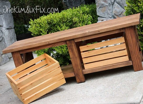 Phenomenal 20 Diy Storage Benches You Can Make Bob Vila Gmtry Best Dining Table And Chair Ideas Images Gmtryco