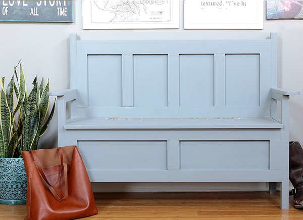Magnificent 20 Diy Storage Benches You Can Make Bob Vila Gmtry Best Dining Table And Chair Ideas Images Gmtryco