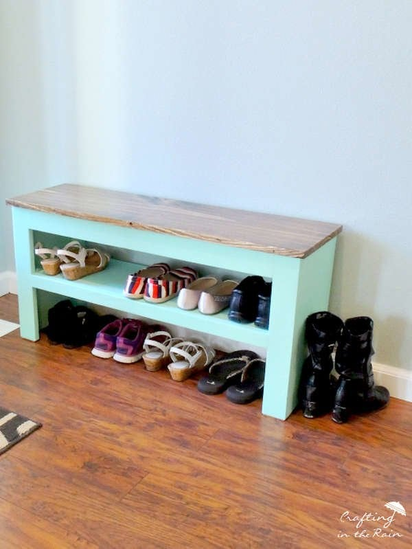 Pleasing 20 Diy Storage Benches You Can Make Bob Vila Dailytribune Chair Design For Home Dailytribuneorg