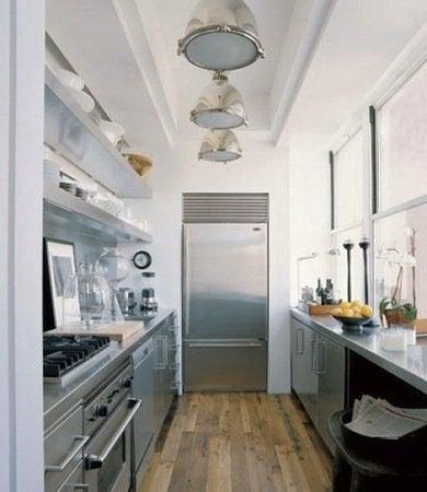 Industrial Kitchen Galley Kitchen Design Ideas 16