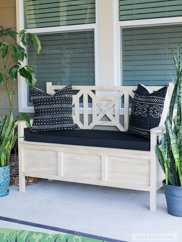 Groovy 20 Diy Storage Benches You Can Make Bob Vila Andrewgaddart Wooden Chair Designs For Living Room Andrewgaddartcom