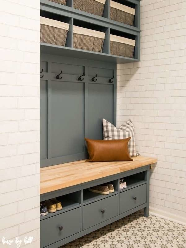 Strange 20 Diy Storage Benches You Can Make Bob Vila Creativecarmelina Interior Chair Design Creativecarmelinacom