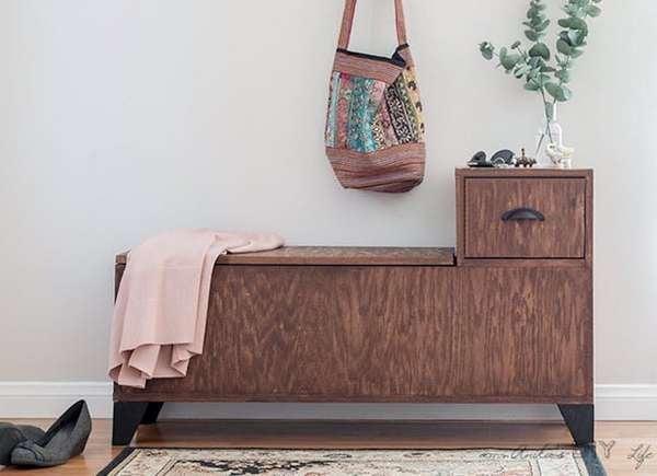 Pleasant 20 Diy Storage Benches You Can Make Bob Vila Alphanode Cool Chair Designs And Ideas Alphanodeonline