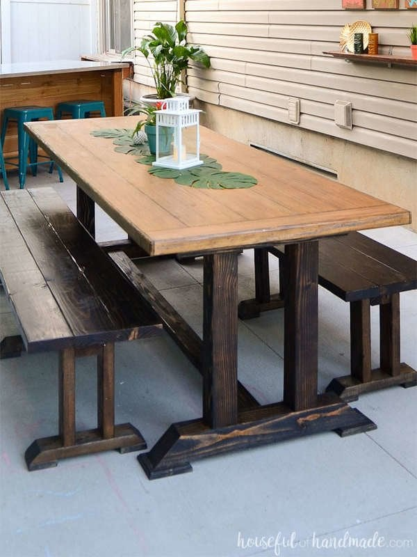 Super 25 Diy Dining Tables Bob Vila Short Links Chair Design For Home Short Linksinfo