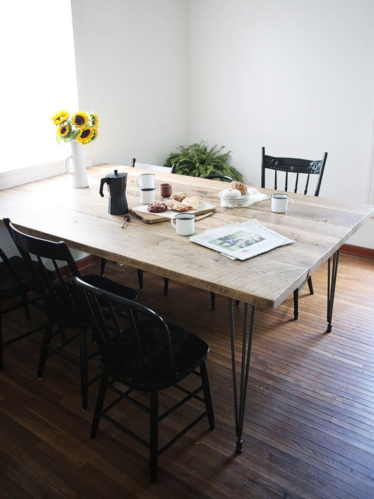Hairpin Leg Diy Dining Table
