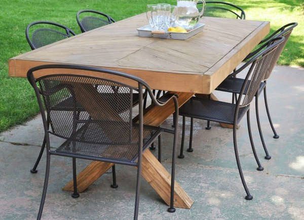 Terrific 25 Diy Dining Tables Bob Vila Inzonedesignstudio Interior Chair Design Inzonedesignstudiocom