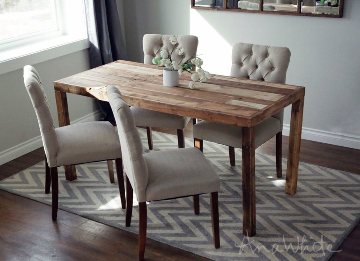 Picture of: 25 Diy Dining Tables Bob Vila