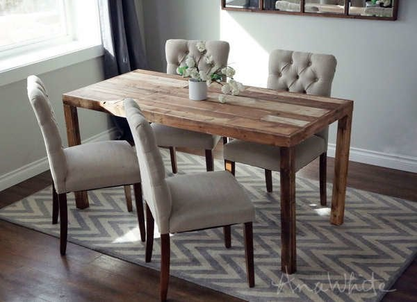 Miraculous 25 Diy Dining Tables Bob Vila Short Links Chair Design For Home Short Linksinfo