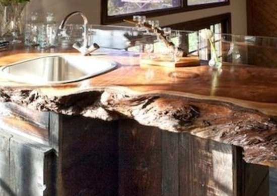 Redwood Countertop