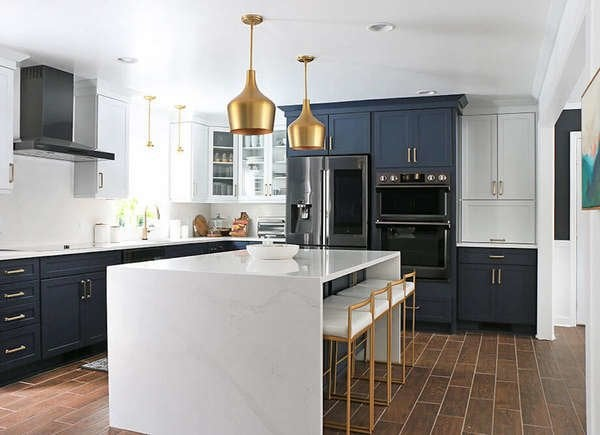 Gold Kitchen Lighting