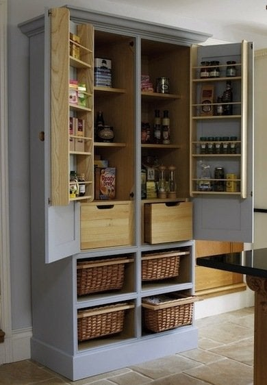 Free standing pantry