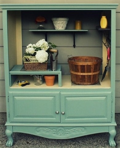 Repurposing Armoires, Armoire DIY Projects - 13 Creative ...