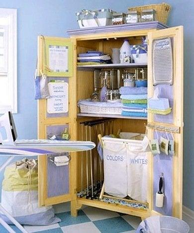 Laundry-armoire