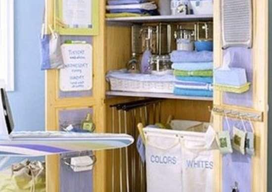 Laundry armoire