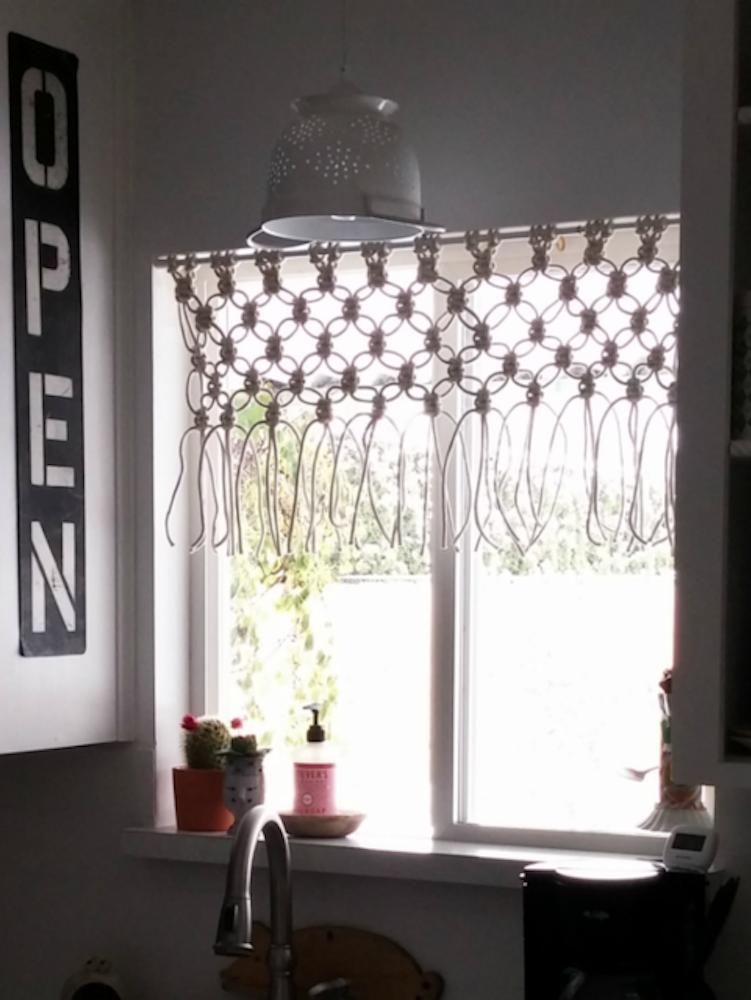 Macrame Window Hanging